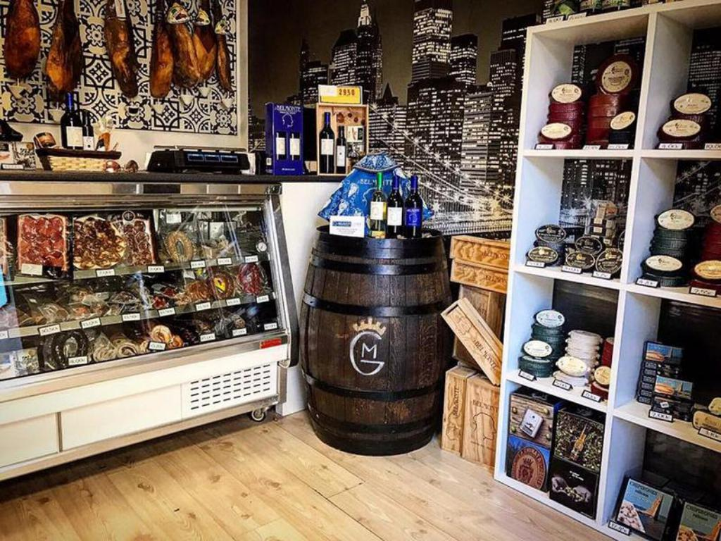 Gourmet del Monte,  ibéricos, quesos, caldos, conservas y otros productos gourmet