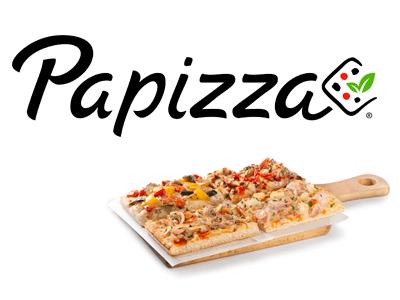 negocios porciones de pizza