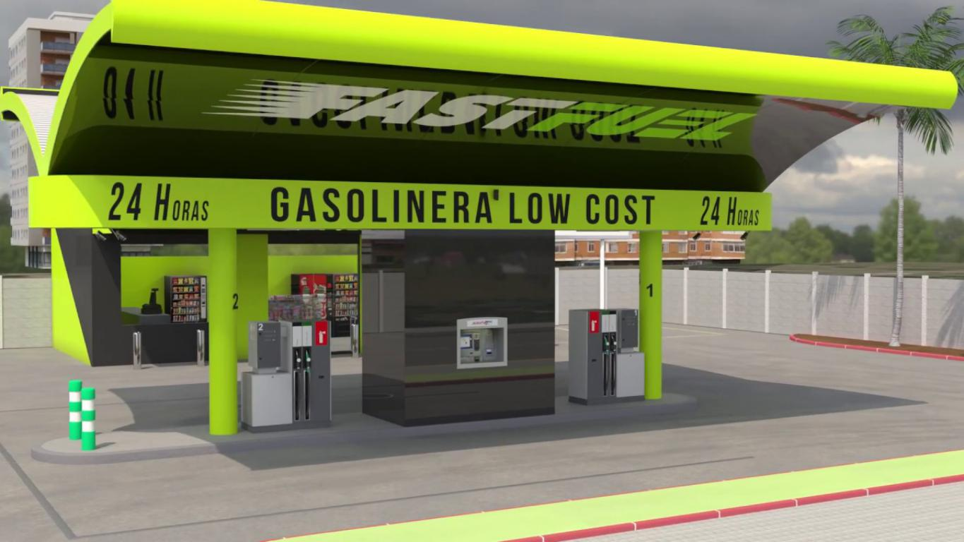 FAST FUEL, GASOLINERAS LOW COST