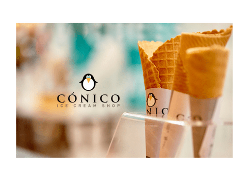 CÓNICO, ICE CREAM SHOP