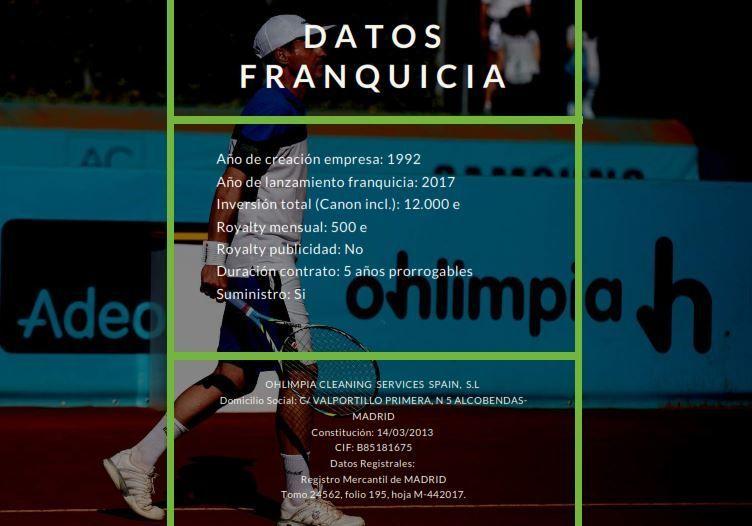 condiciones ohlimpia - OHLIMPIA, FRANQUICIAS DE LIMPIEZA